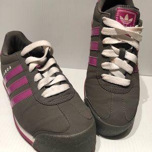 Adidas Samoa original. Great and purple stripe sz8
